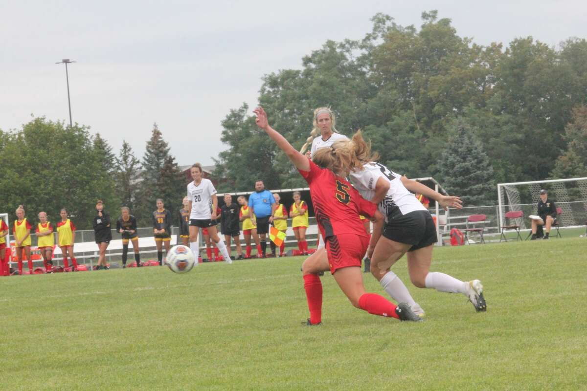 Ferris State blanked Lindenwood (Mo.) 4-0 in women's soccer action on Saturday.