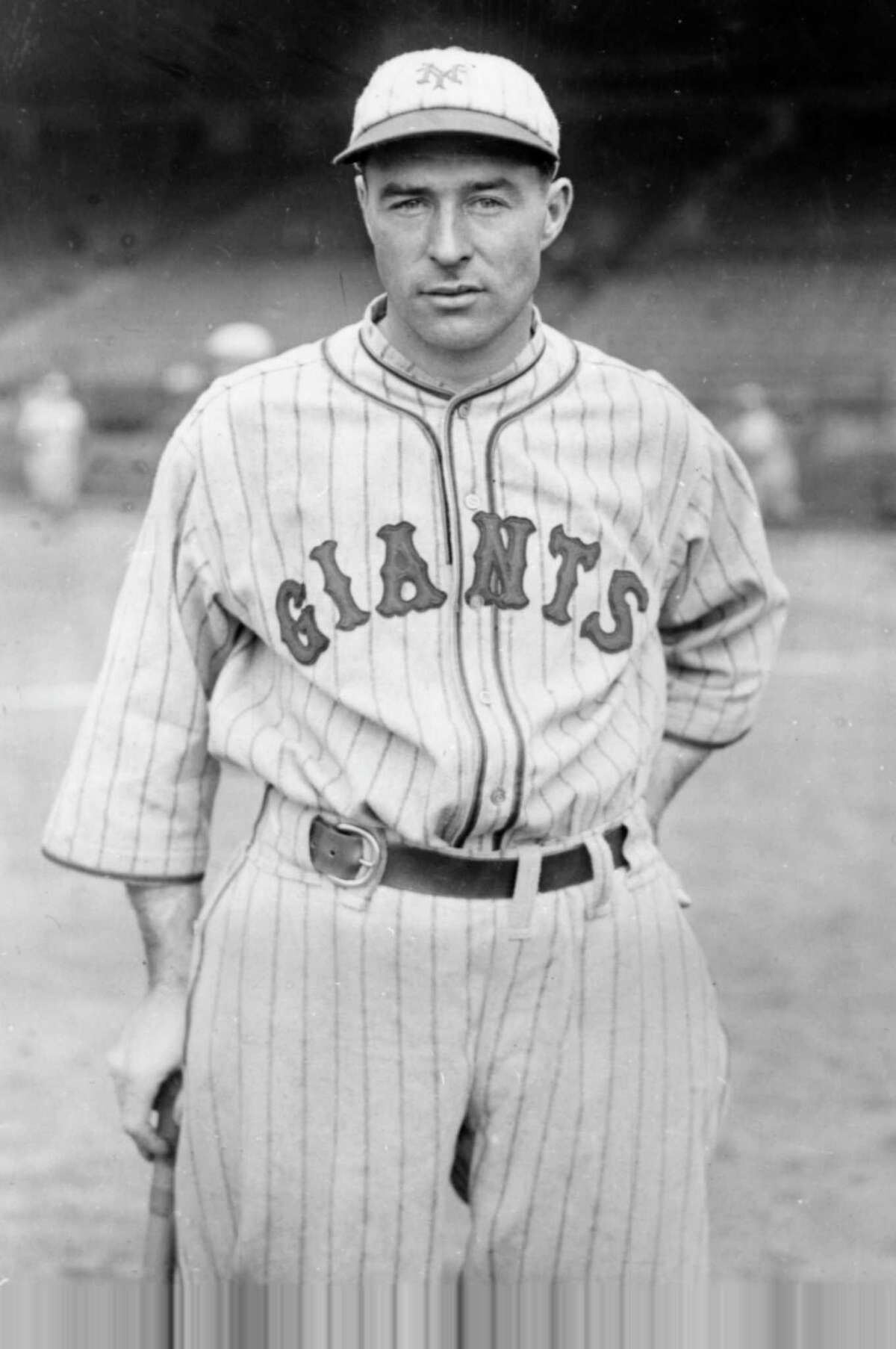 History: Lefty O'Doul, new outfielder for the New York Giants, poses on May 24, 1928. (AP Photo) Ran on: 10-04-2004 Lefty O'Doul succeeded as a big-league player, then succeeded as a Pacific Coast League manager and San Francisco restaurateur.