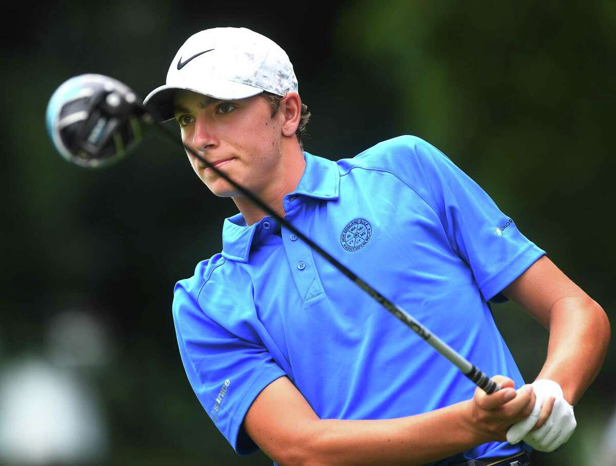 Milford's Ben James, seen here in 2019, of Milford, won The Junior Players Championship Sunday held at TPC Sawgrass in Florida.