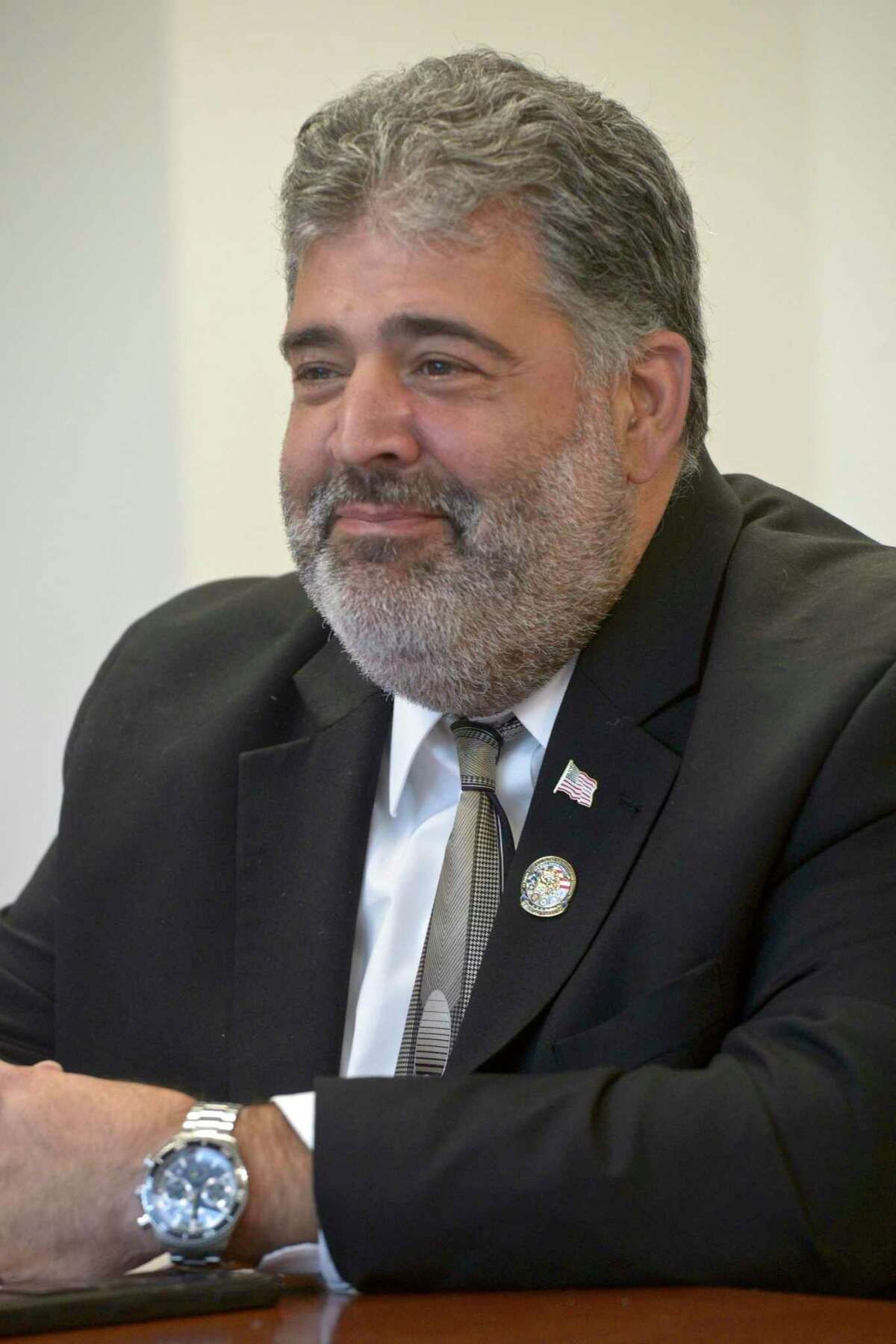 New Milford Mayor Pete Bass