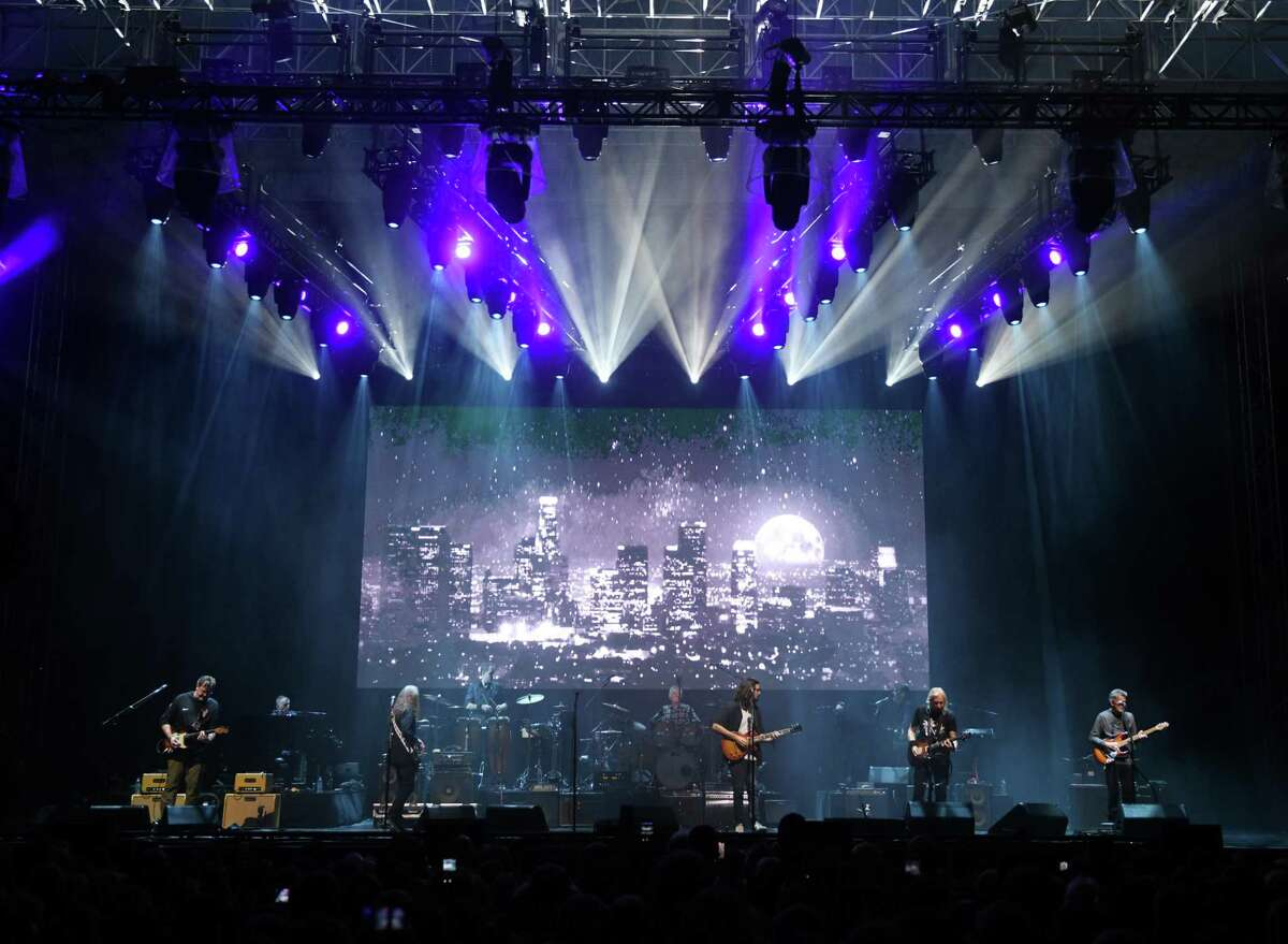 Classic rock band Eagles perform at the Greenwich Town Party at Roger Sherman Baldwin Park in Greenwich, Conn. Sunday, Sept. 5, 2021. This year's lineup featured headliners Zac Brown Band and Eagles.