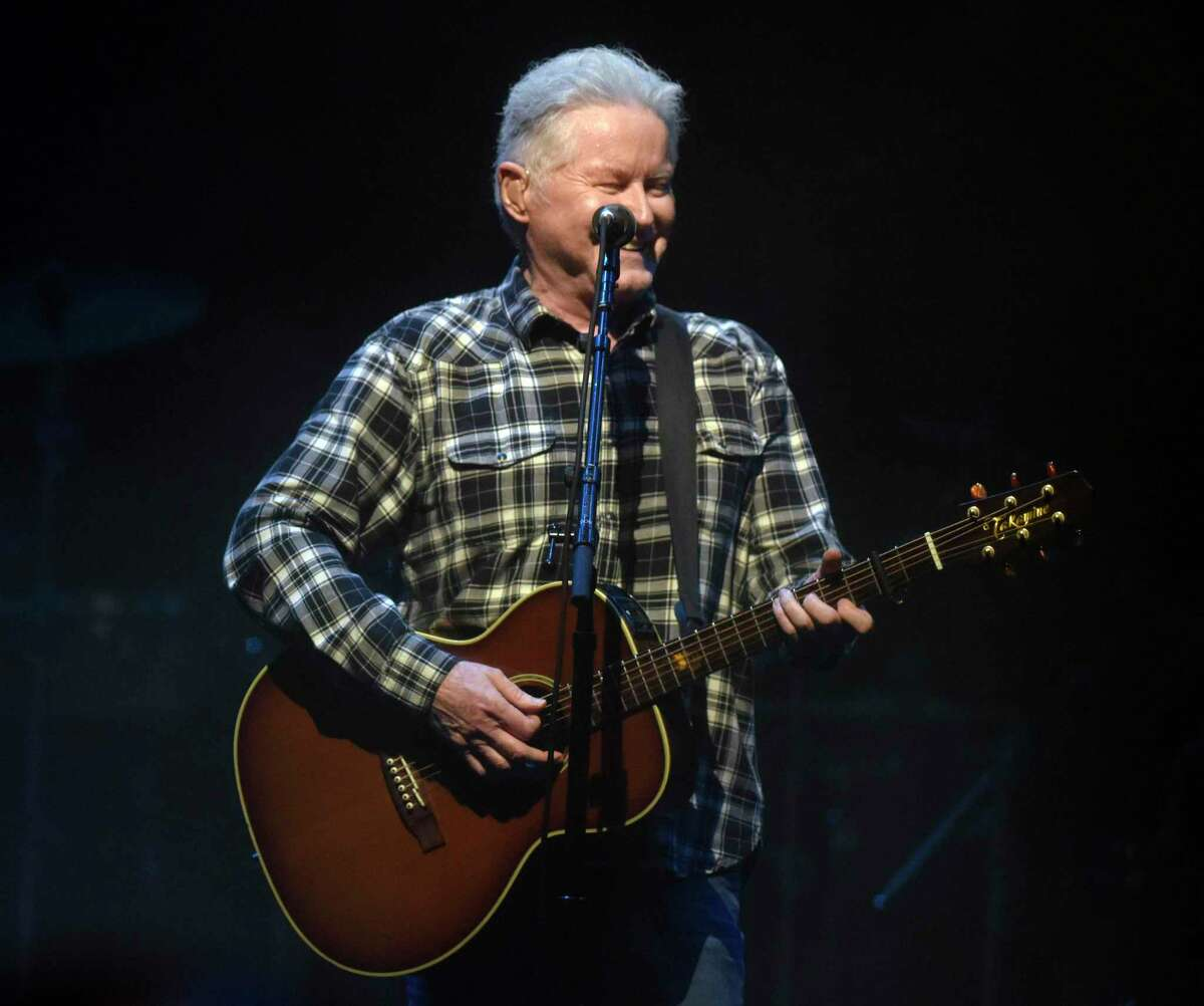 Don Henley performs with classic rock band Eagles at the Greenwich Town Party at Roger Sherman Baldwin Park in Greenwich, Conn. Sunday, Sept. 5, 2021. This year's lineup featured headliners Zac Brown Band and Eagles.