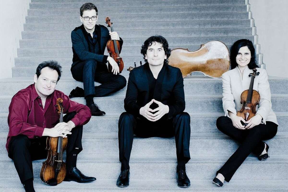 Belcea Quartet plays two concerts, each at different venuesthis fall. Photo: Marco Borggreve