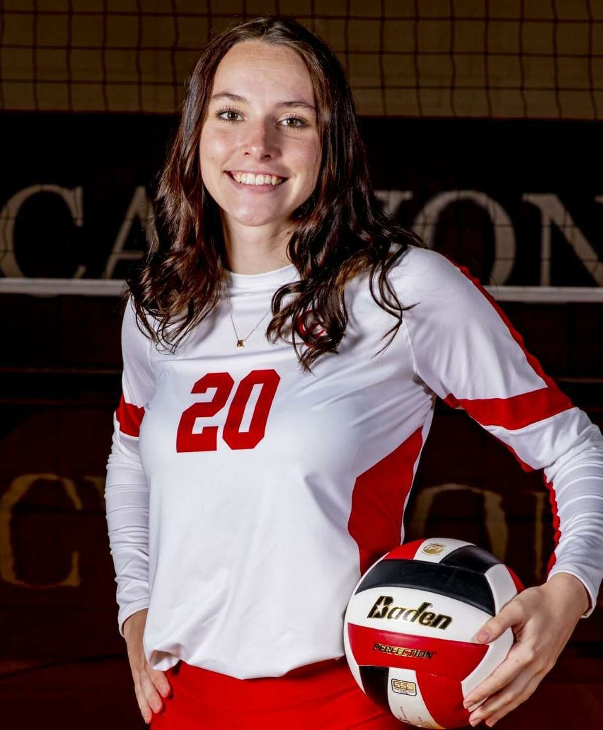 Kyla Malone is a senior outside hitter for New Braunfels Canyon.
