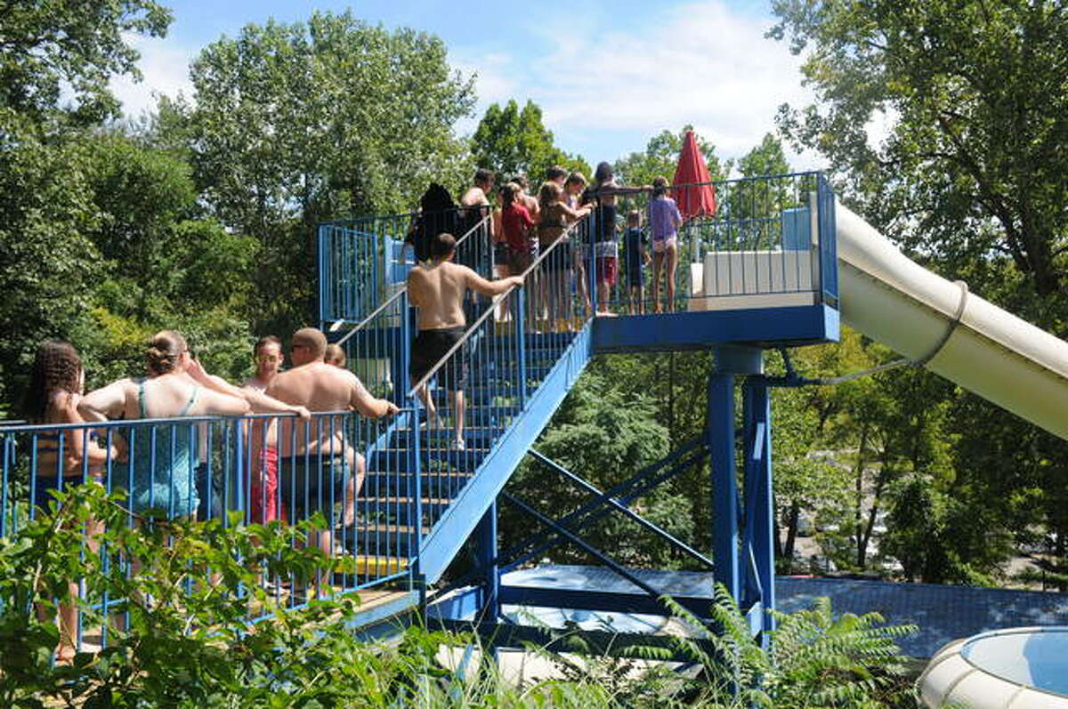 """Long lines were the norm Sunday at Raging Rivers WaterPark in Grafton where Ken Handler reported a """"better than we thought it would be"""" season for the newly-expended attraction."""