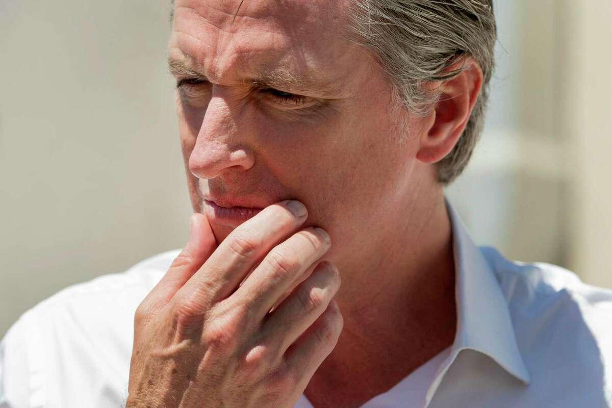 The recall election against California Gov. Gavin Newsom is on Sept. 4.