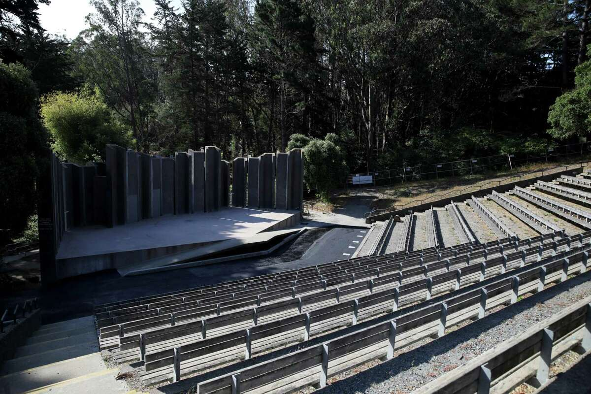 The Jerry Garcia Amphitheater in McLaren Park is undergoing infrastructure improvements with the hope of attracting bigger productions.