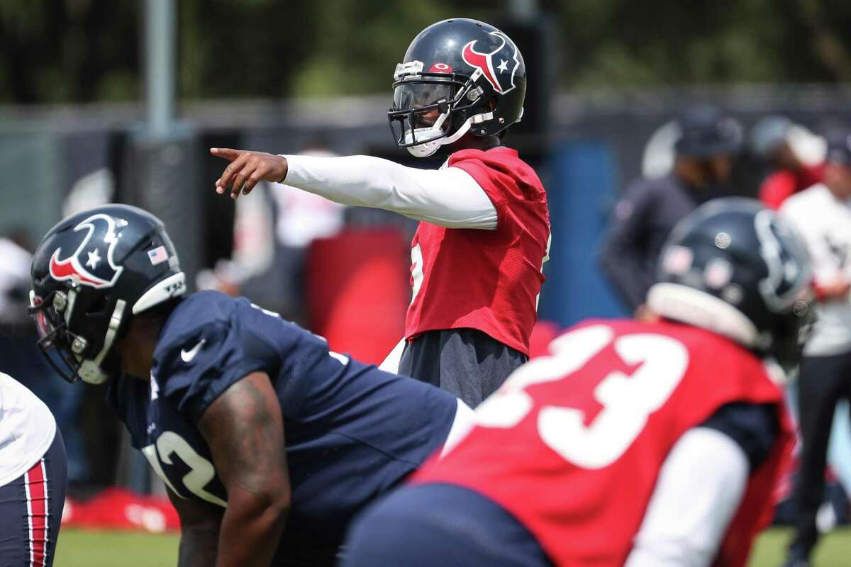 Tyrod Taylor has shown the qualities to lead the Texans as the team's new quarterback.