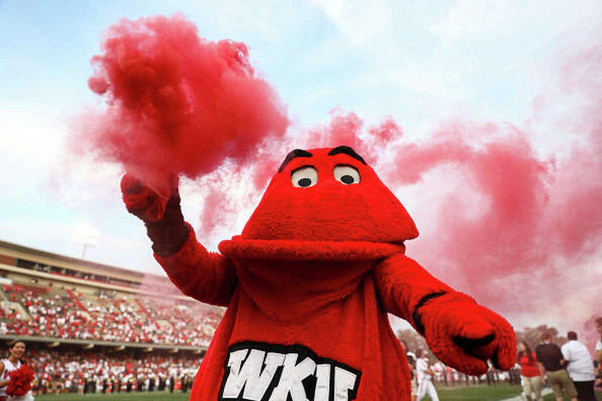 Western Kentucky University Hilltoppers' mascot, Big Red.