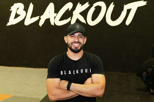 Blackout Training's C.J. Martinez poses for a feature photo, Tuesday, July 27, 2021, at their facility.