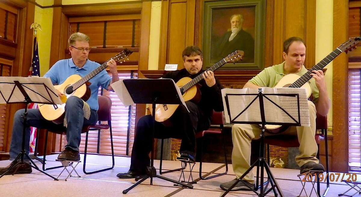 New England Guitar Society will perform Saturday, Sept. 11, 2021, at the Milford Historical Society. This concert closes out the Milford Arts Council's Summer Pop Up series.
