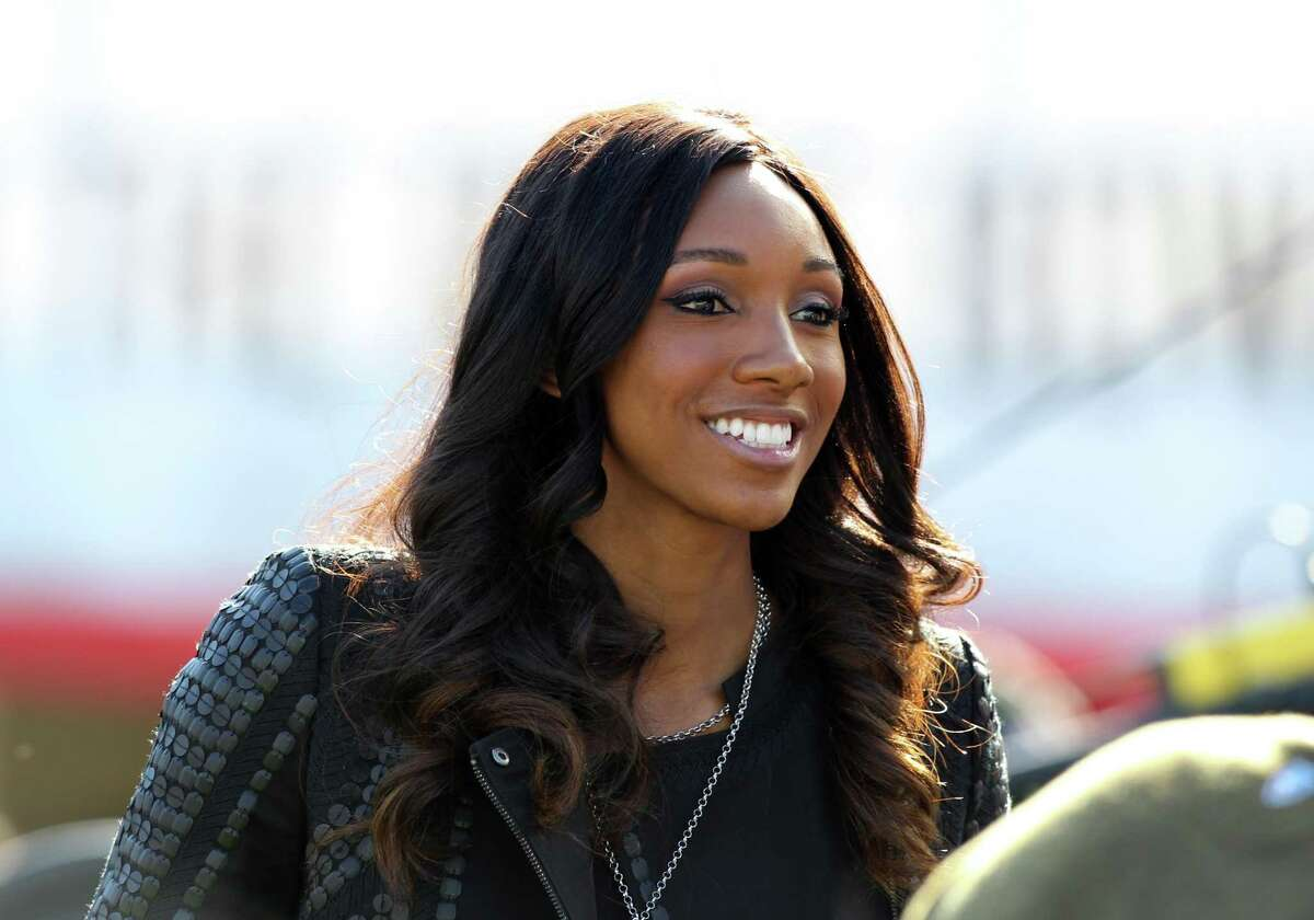 """Maria Taylor has joined NBC Sports as co-host of """"Football Night in America,"""" which is filmed at NBC Sports' headquarters in Stamford, Conn."""