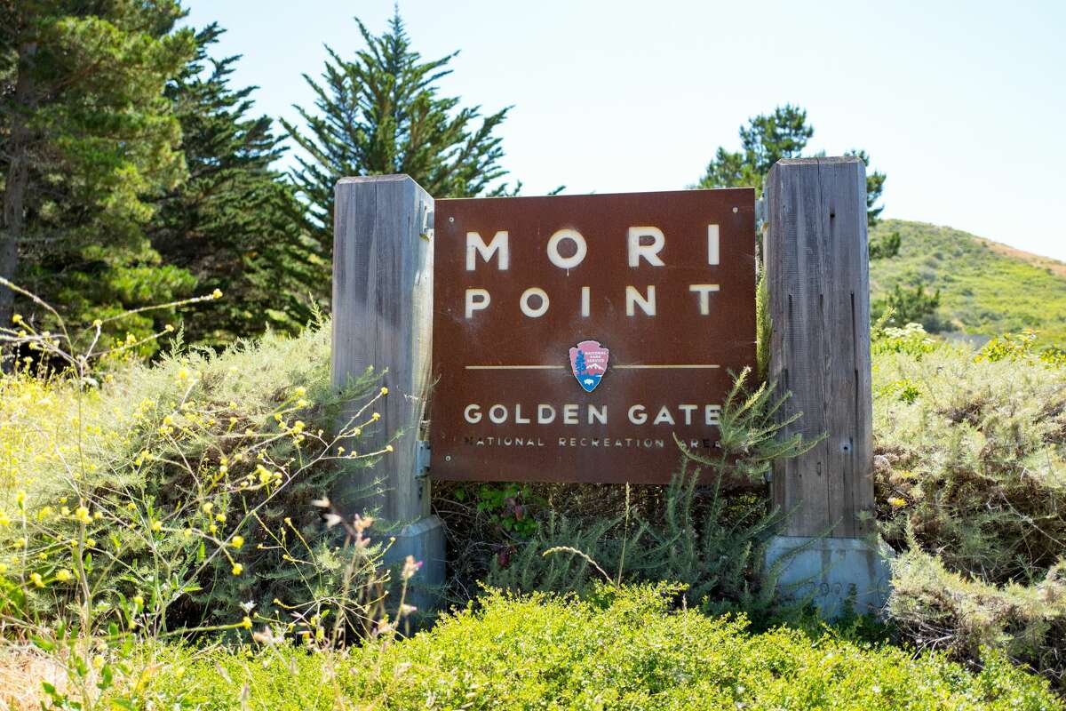 RECORD - Signage at Mori Point, part of the Golden Gate National Recreation area, in Pacifica, California, June 20, 2017.