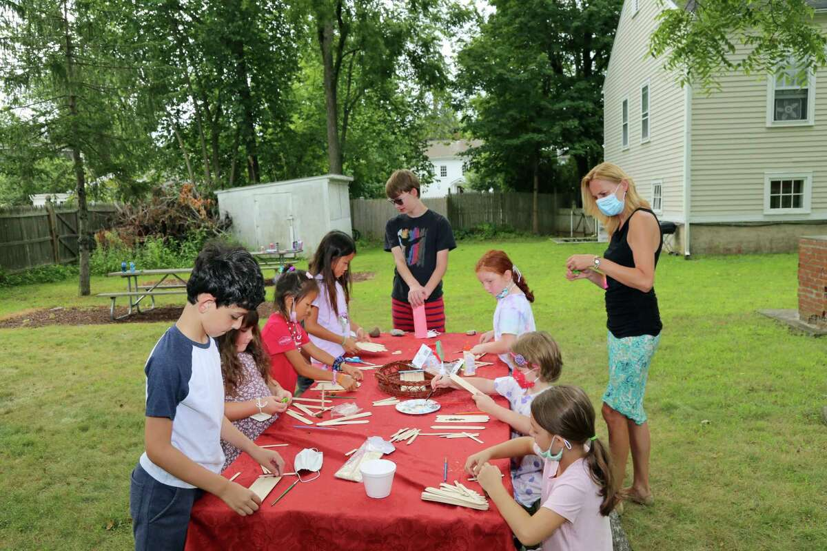 Christ Episcopal Church vacation bible school, led by Dorota Xeller, director of Children and Youth Ministries, this past August.