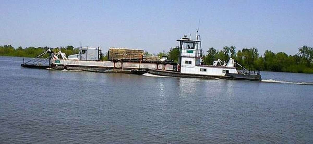 The Illinois Department of Transportation has announced improvements and repairs to the Kampsville Ferry, shown in this file photo, will require a full closure on both sides of the Illinois River from Monday, Sept. 13, through Friday, Sept. 30.