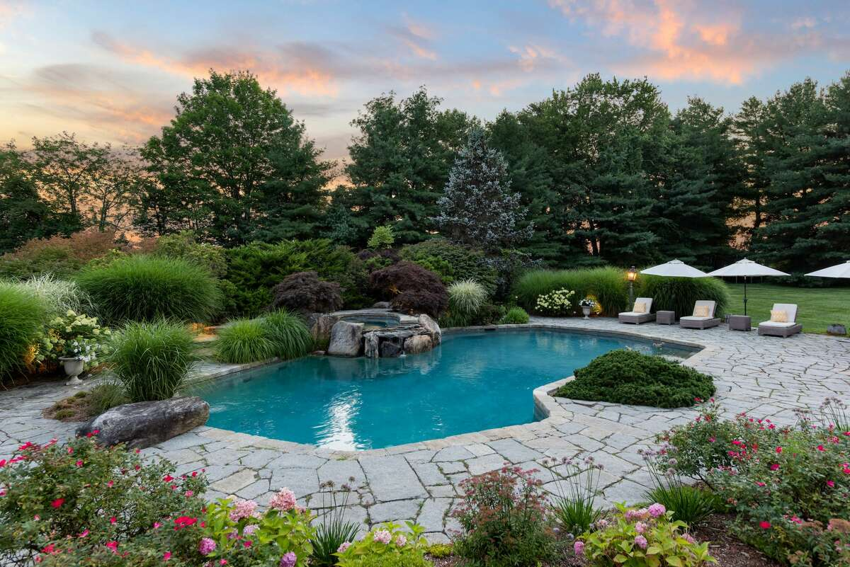 The house at at 982 Oenoke Ridge Road in New Canaan, once owner by actor Christopher Meloni, is on the market for $4,995,000.