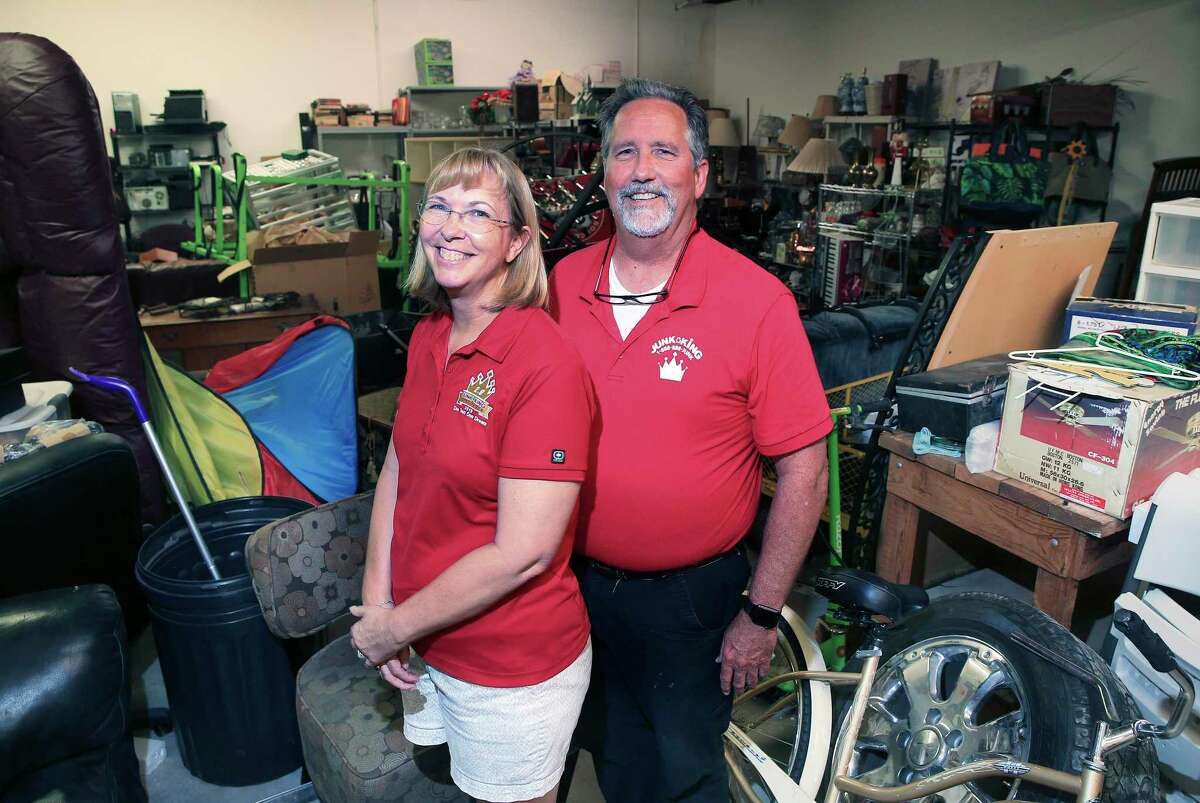 DeWitt and Shelly Rote own two Junk Kings, where treasure is often found amid the trash.