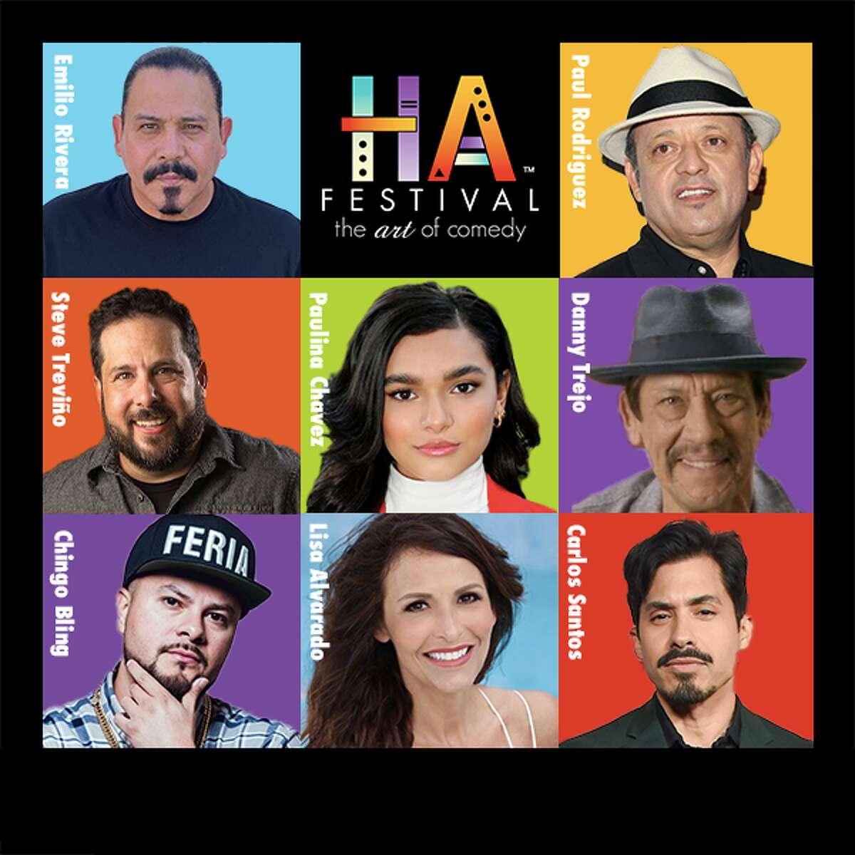 """HA Festival-The ART of Comedy"" returns to San Antonio September 17- 19."