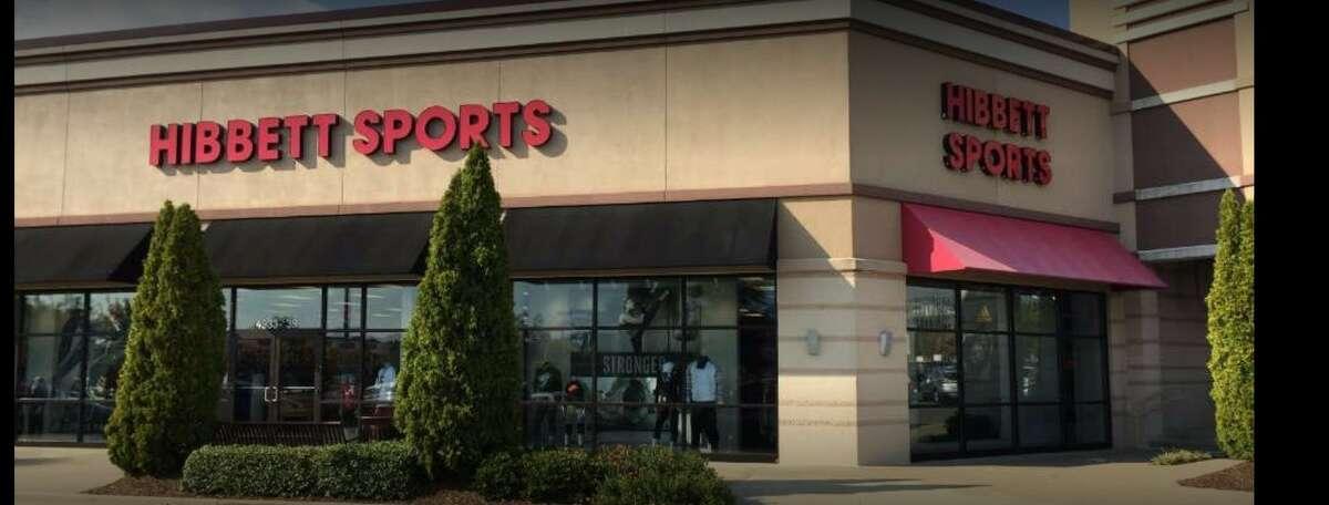 Hibbett's Sports in Edwardsville is seen in 2017.