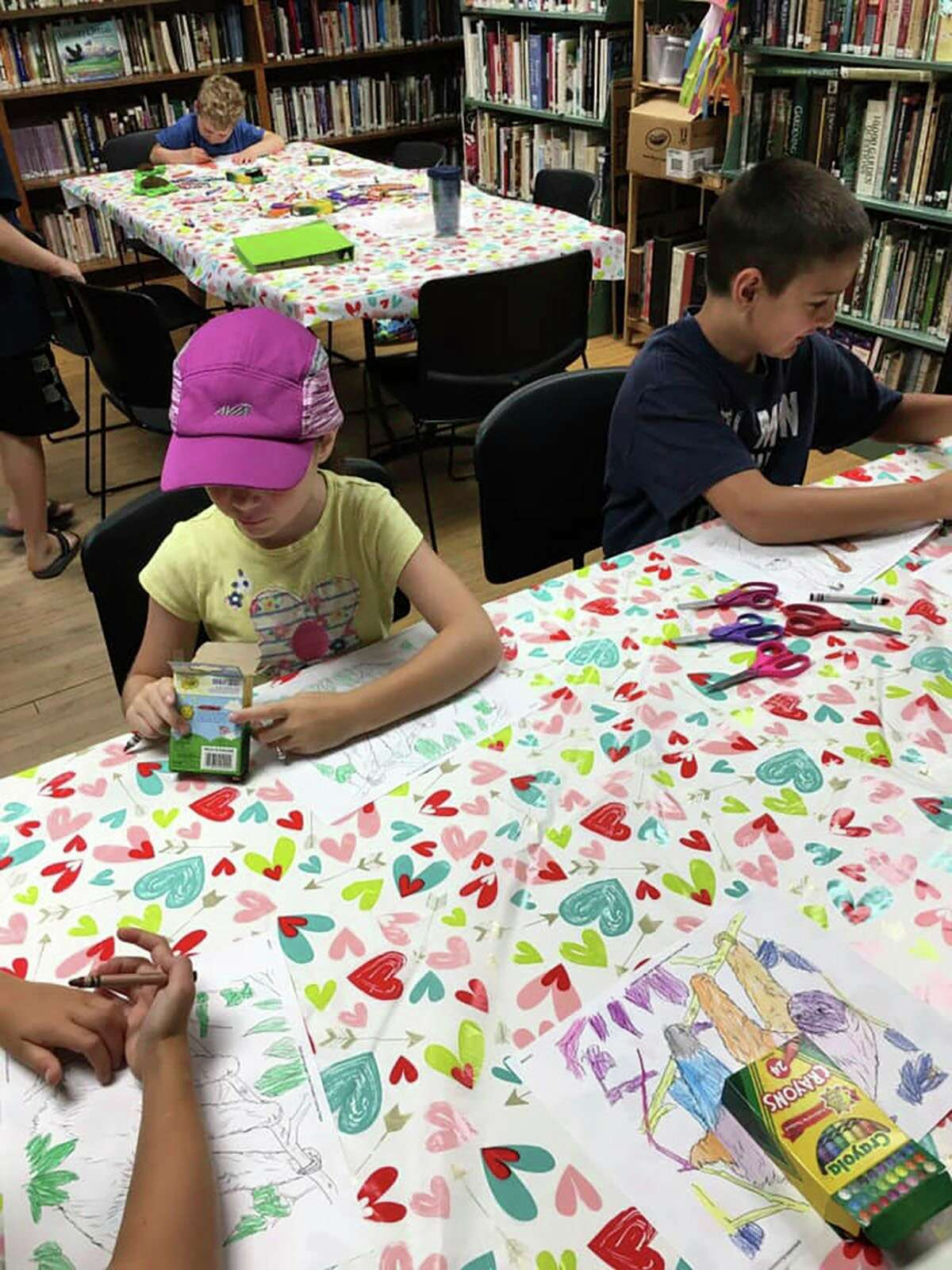 Chase area kids got to participate in many fun craft projects. (Courtesy photo)