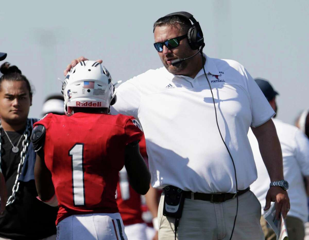 Clear Lake head coach Larry McRae likes the progress his team is making halfway through its non-district schedule.