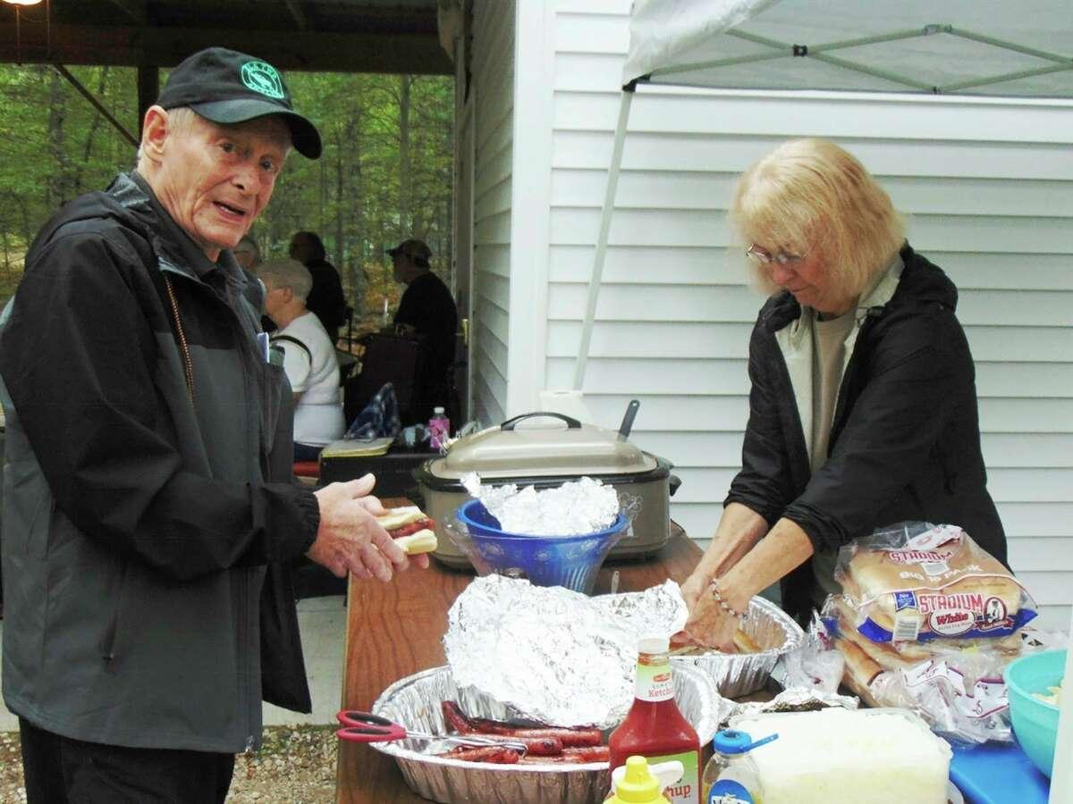 Elk Township SupervisorLou Fitzand his wife, Joyce Durdel, enjoy bringing people together through family fun events. (Star photo/Shanna Avery)