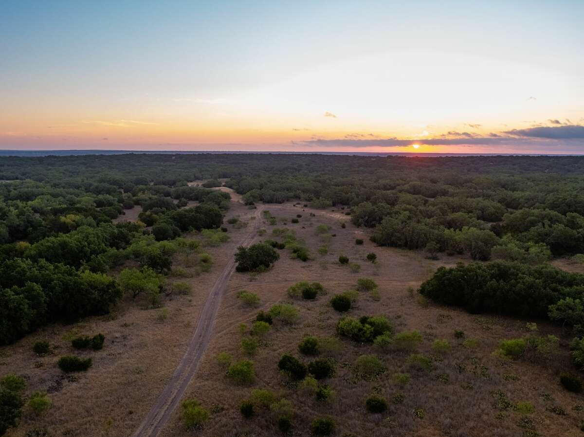 Sunset on the Y.O Ranch.