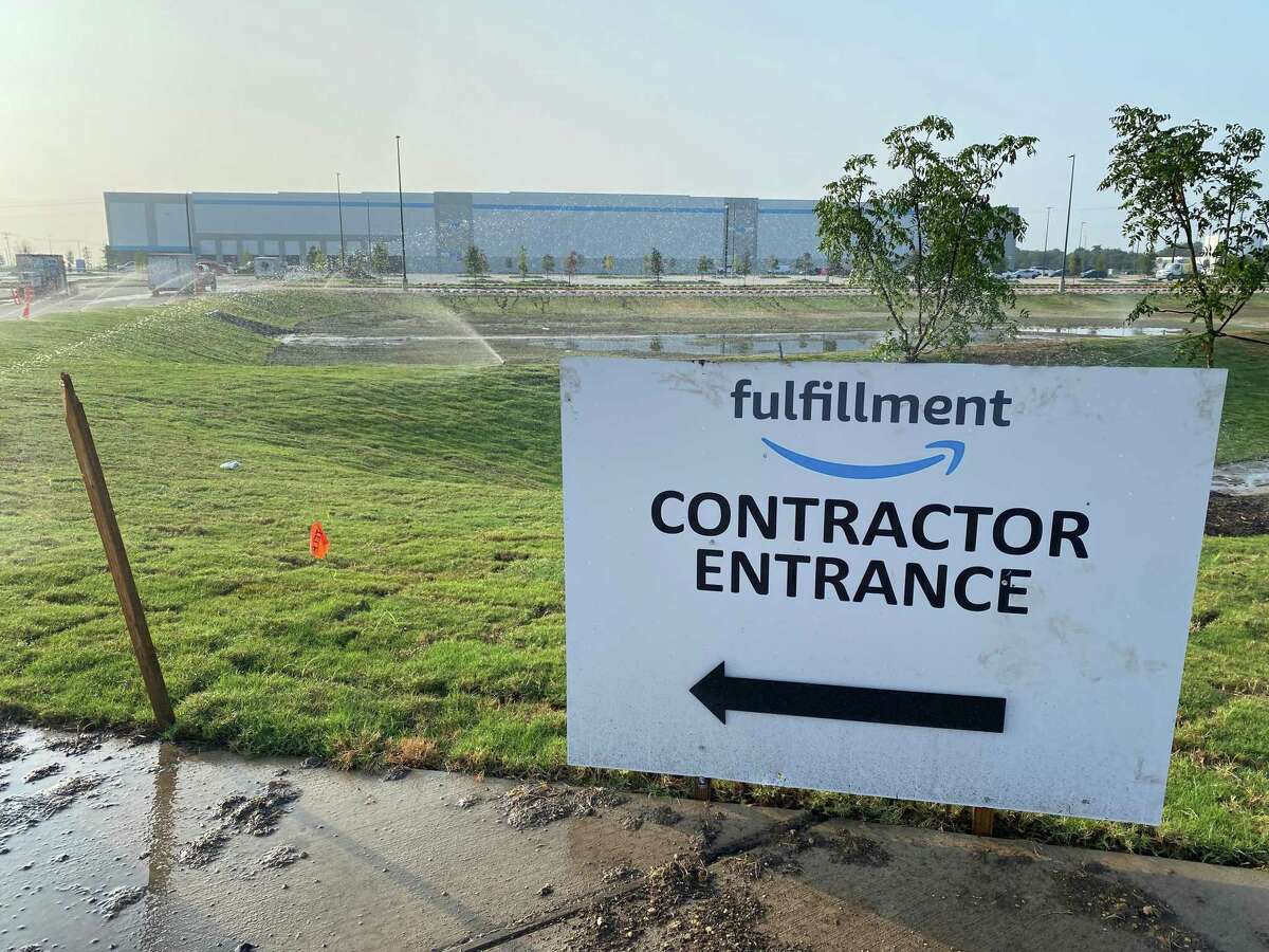 Amazon's new warehouse in San Marcos, slated to open this month, will be its fourth in Hays County.
