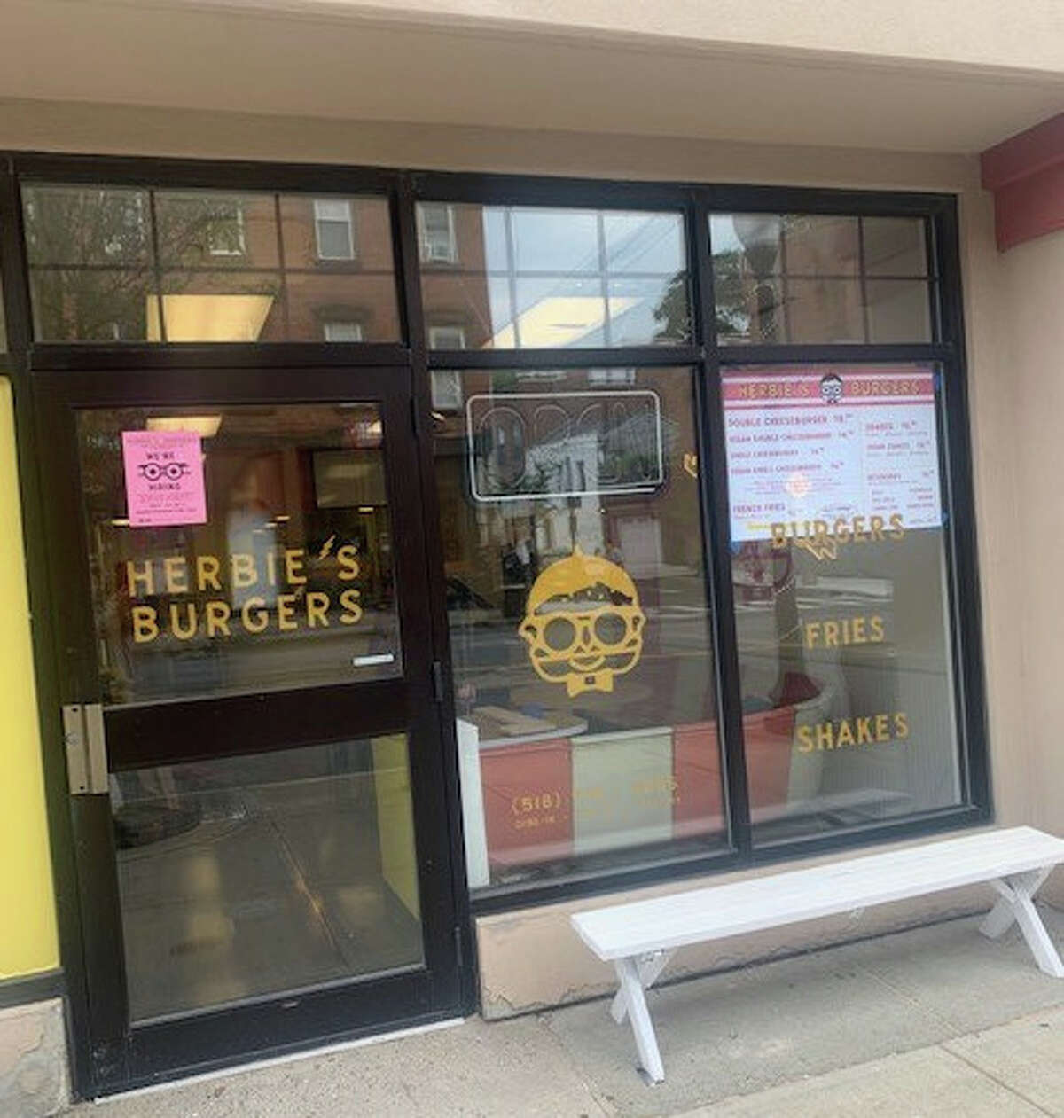 Herbie's Burgers is being developed to open in late September at 196 Lark St., Albany, at the corner of Lark and Spring streets.