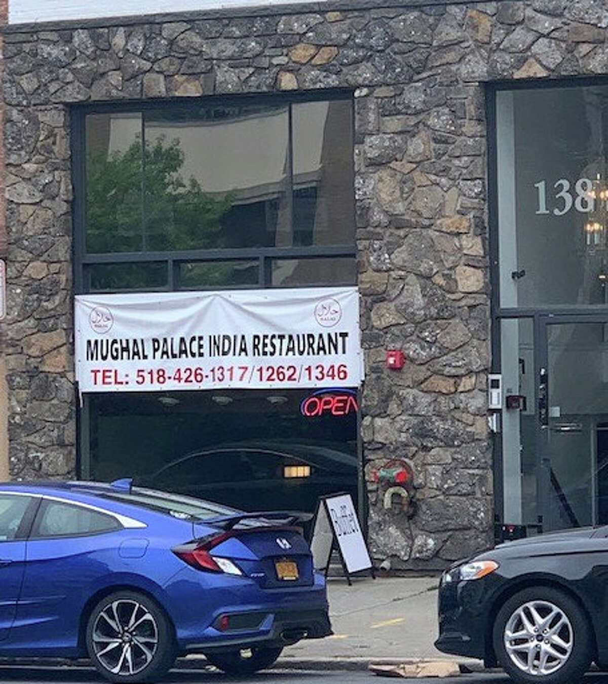 The Mughal Palace, an Indian restaurant named after an empire that stretched across much of South Asia from the 16th to 19th centuries, is now open at 138 Washington Ave., Albany, opposite the Albany Institute of History & Art.
