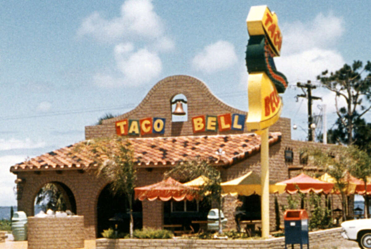 The Taco Bell at 669 South Coast Highway in Laguna Beach opened in 1967.