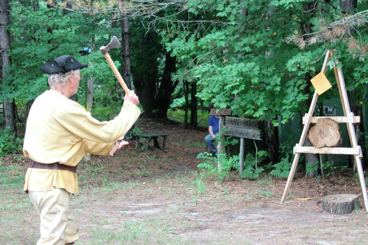 The Benzie Sportsman's Club hosted a three-day rendezvous in August, and is hosting a community open house on Sept. 19. (File Photo)