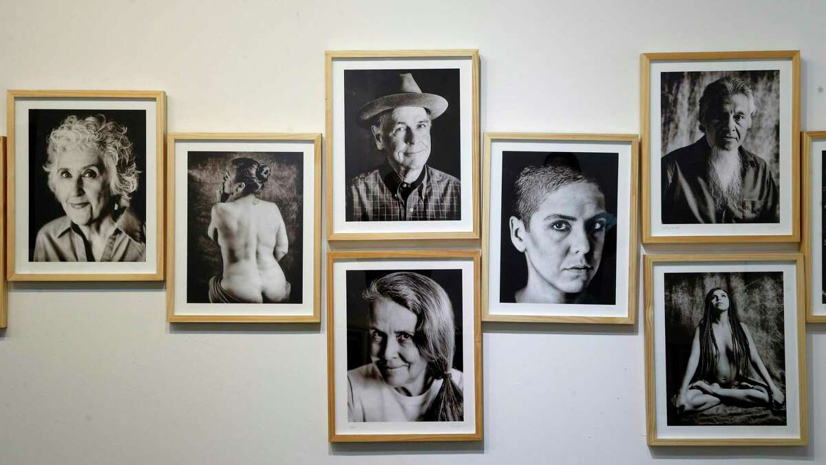 """""""Portraits - A Study in Faces,"""" an exhibit of photographer Ramin Samandari's work, opens on Second Saturday in in his new space in the Lone Star Arts District."""