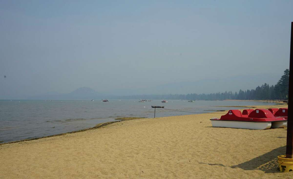 Officials lifted evacuation orders Sunday around most of South Lake Tahoe, but the Caldor Fire is only 59% contained.