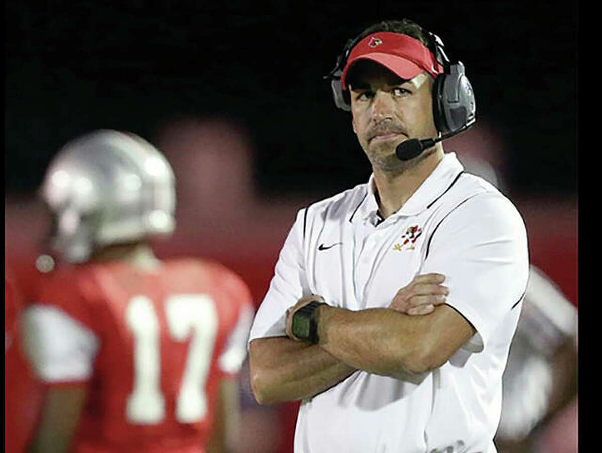 Alton coach Eric Dickerson's Redbirds found themselves having to play catch-up for the second consecutive week in their 27-20 loss to Quincy in Saturday's home opener at Public School Stadium.