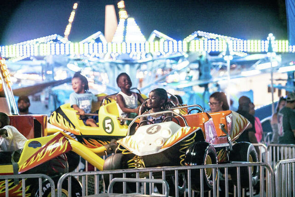 The Alton Expo makes a return to the Liberty Bank Alton Amphitheater Sept. 8-12. One-ticket rides will be available 5-10 p.m. Wednesday and Thursday.