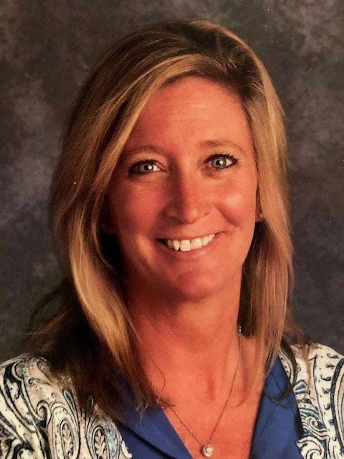 Michele Molloy, Trumbull's 2021 teacher of the year.