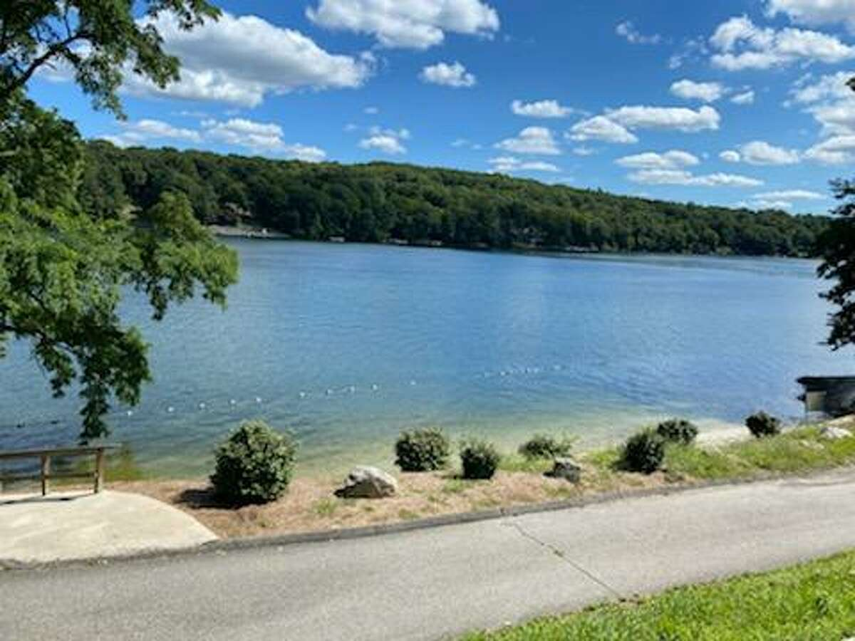 Candlewood Shore community beach in New Milford