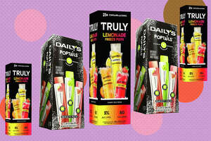 Truly's Lemonade Freeze Pop Variety Pack  for $17.99      Daily's Poptails  for $16.99
