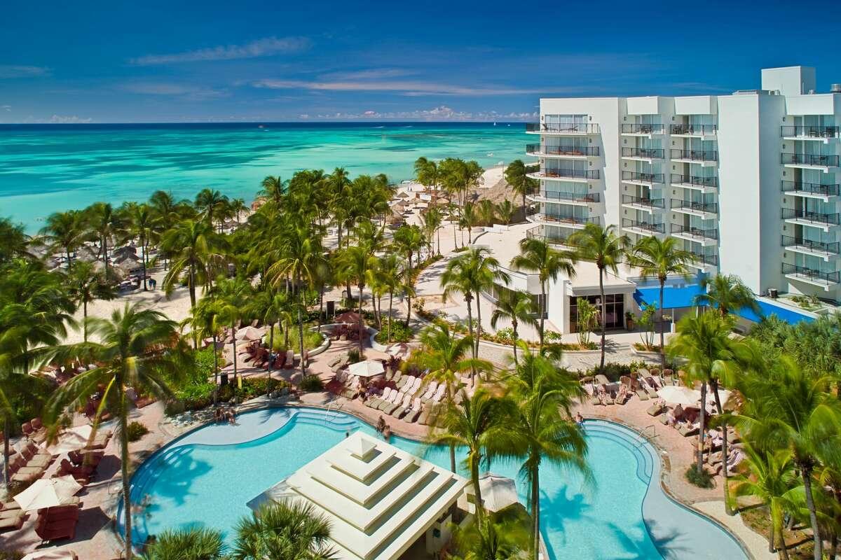 Aruba Marriott Resort main pool