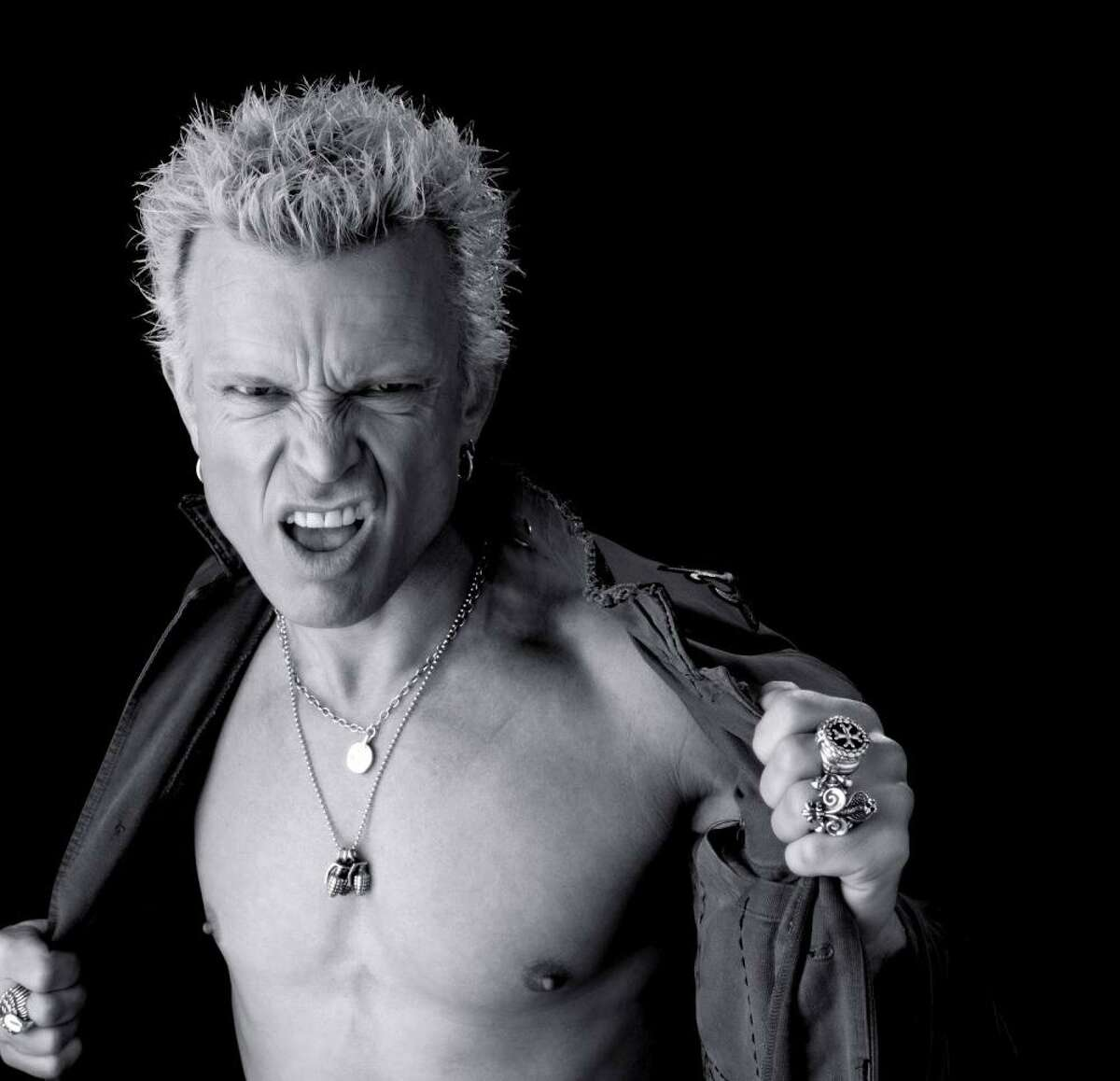 Singer Billy Idol is set to perform an outdoor show Sept. 18 at The Big E Arena in West Springfield, Mass.