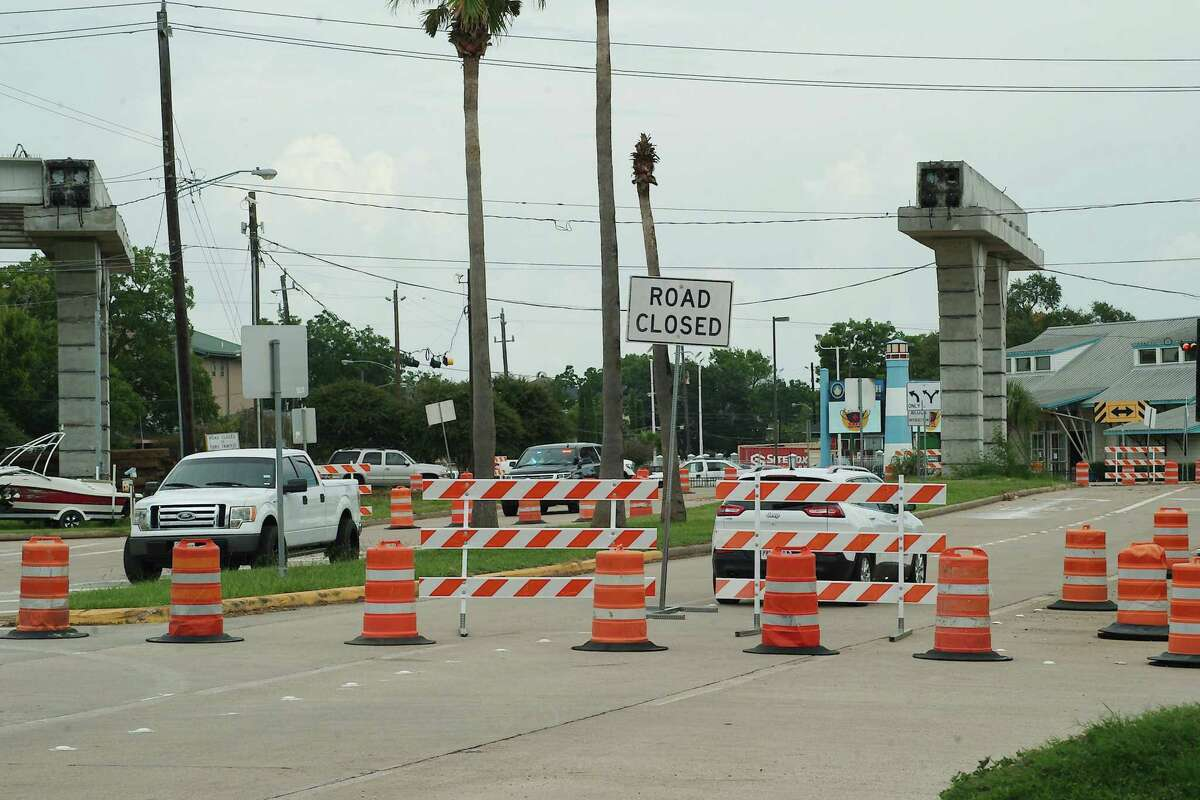 The $201 million Texas 146 project has affected streets such as FM 2094.