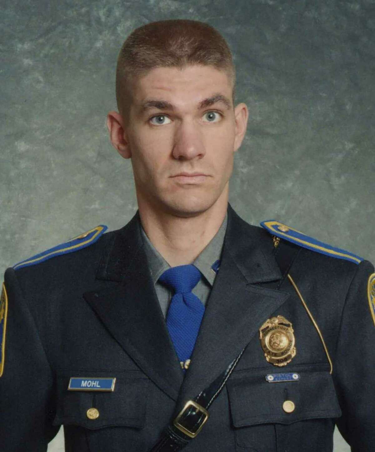 Sgt. Brian Mohl was swept away by fast-rising waters during Hurricane Ida early in the morning of Sept. 2, 2021. His funeral service will be held later this week. Burial service will be private, his funeral home said.