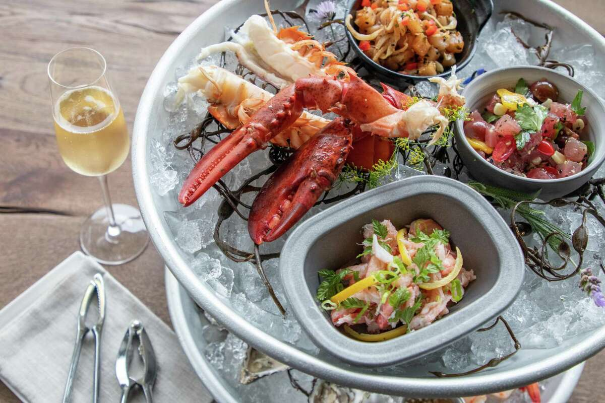 State Street Market's Ostro is a raw bar and seafood market with oysters, ceviches and crudos on the menu.