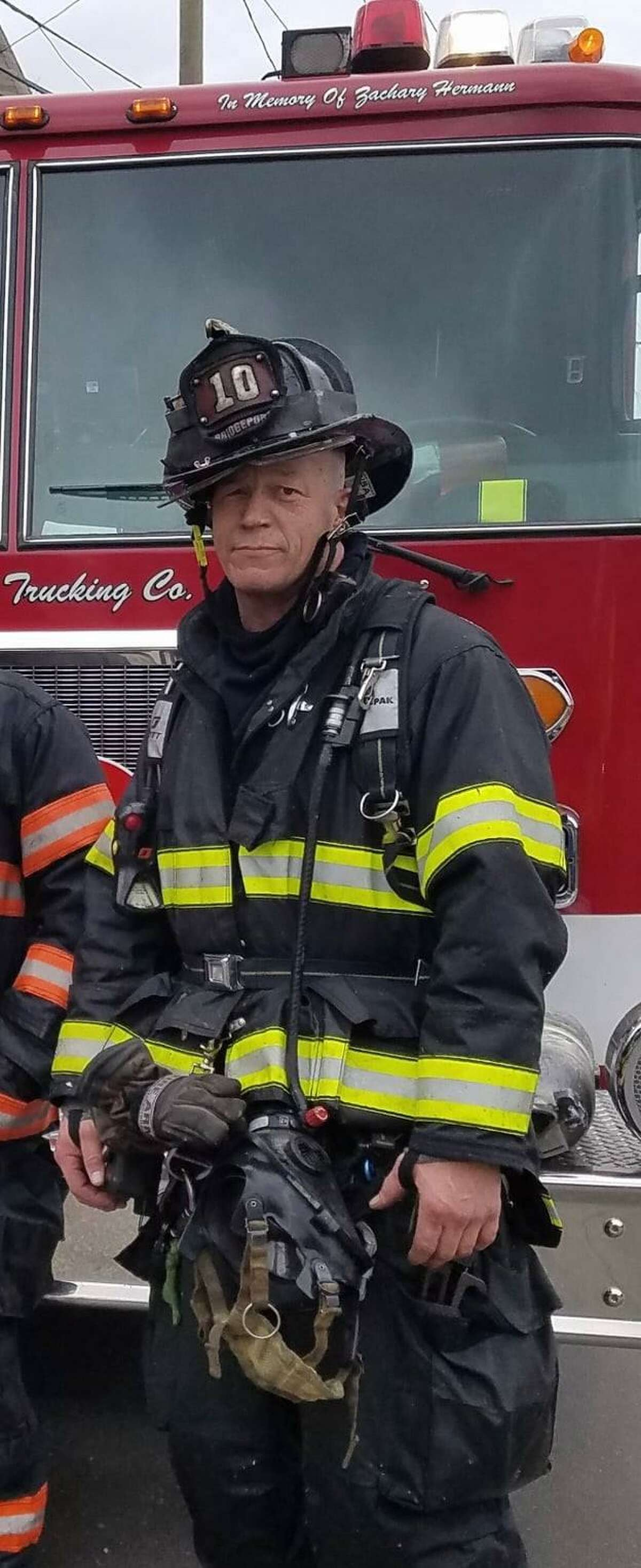 Stephen Buda, a pump engineer for the Bridgeport Fire Department, died after a rock climbing incident, the fire department announced Tuesday.