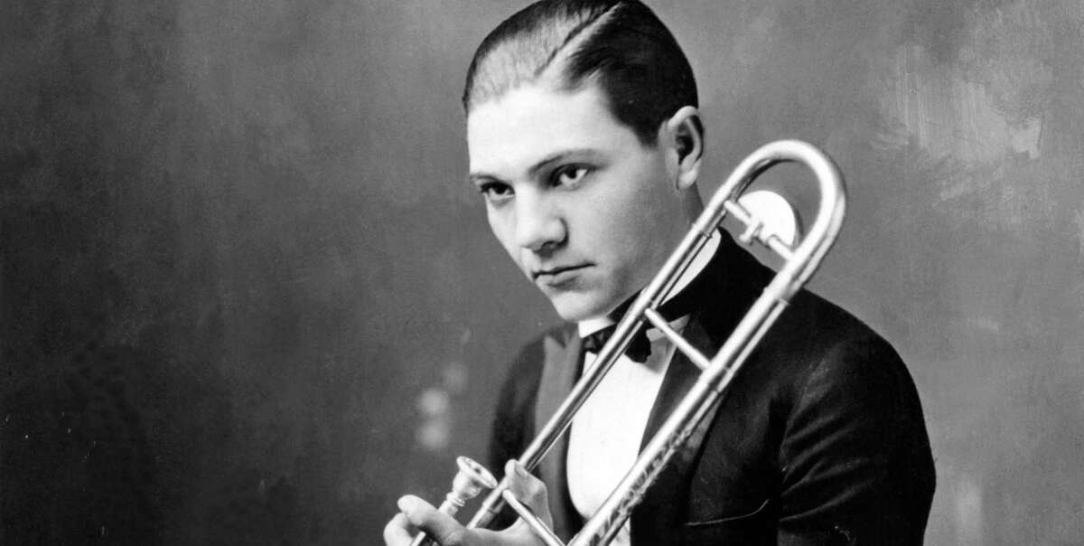 Trombone player Jack Teagarden, pictured in 1930, created a sensation in New York when he arrived from Texas.