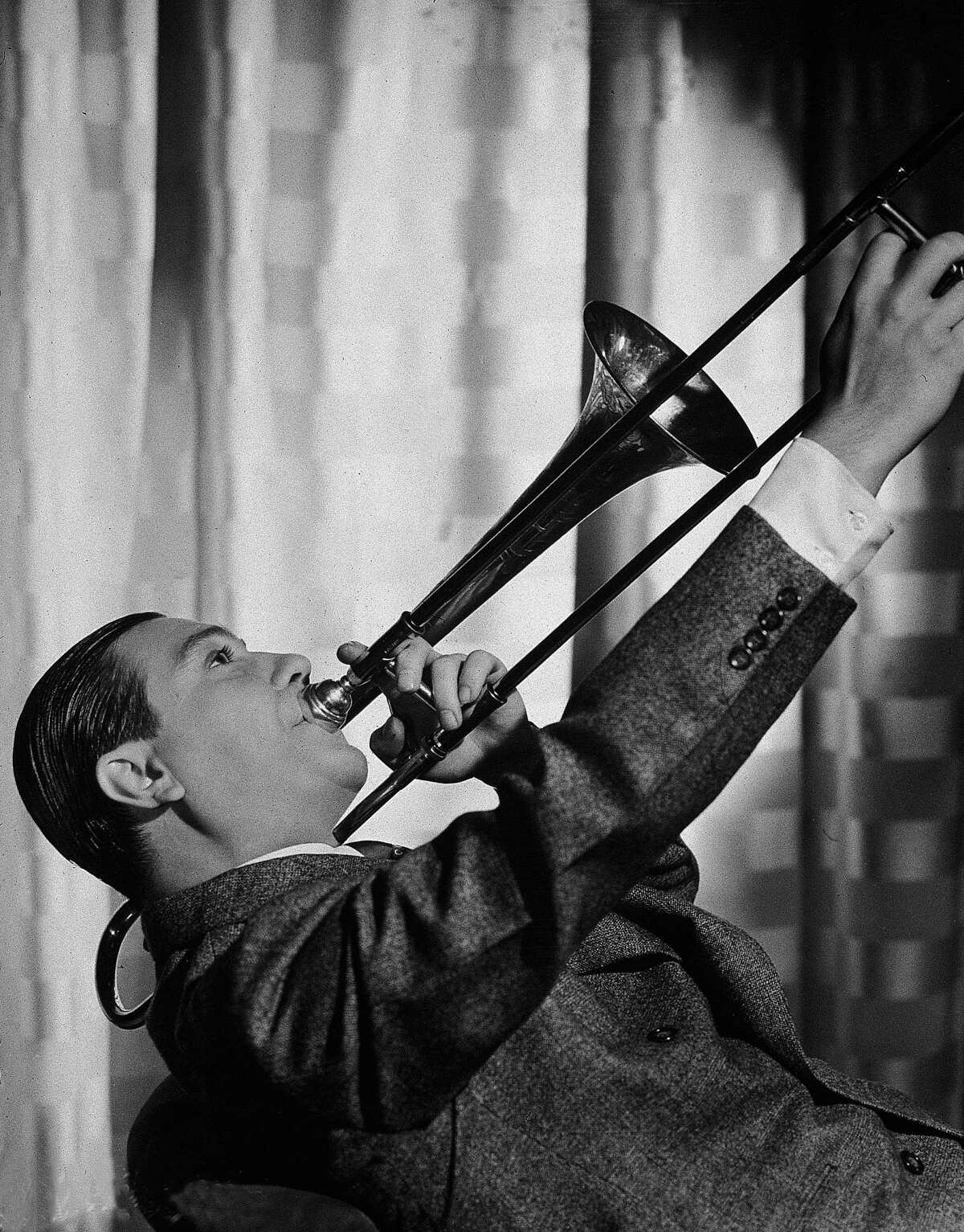 Jack Teagarden, pictured in a promotional film portrait