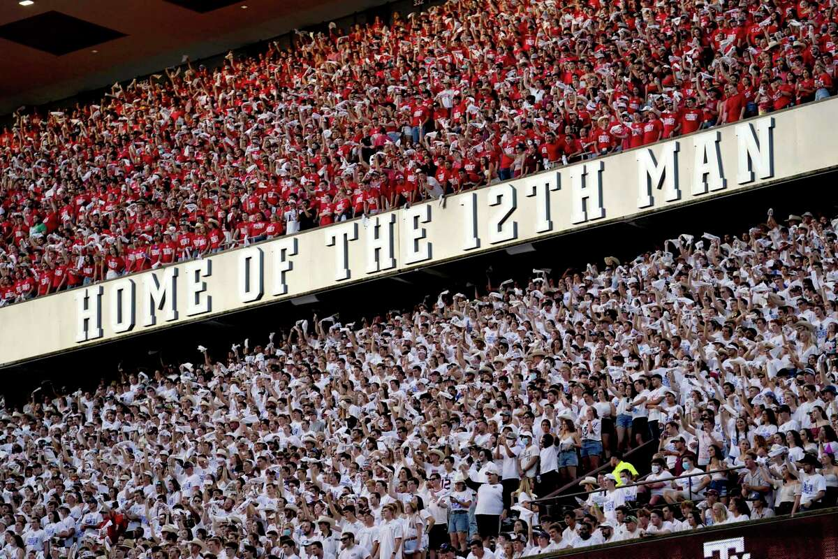 With the 20th anniversary of the 9/11 terrorist attacks approaching, Texas A&M fans in their respective tiers last Saturday were clad in red, white and blue.