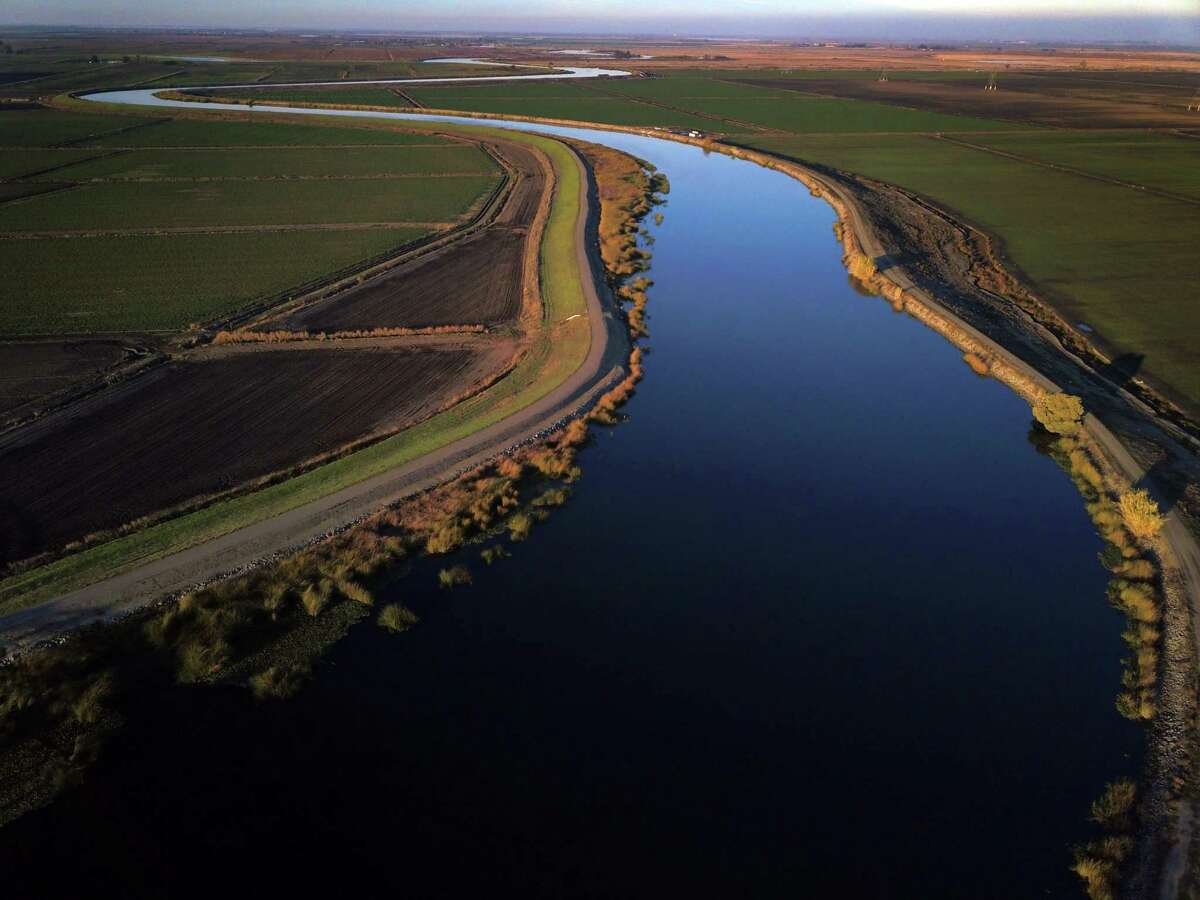 Sacramento-San Joaquin Delta outside Discovery Bay. Senior water rigths holders have sued the state over curtailments.