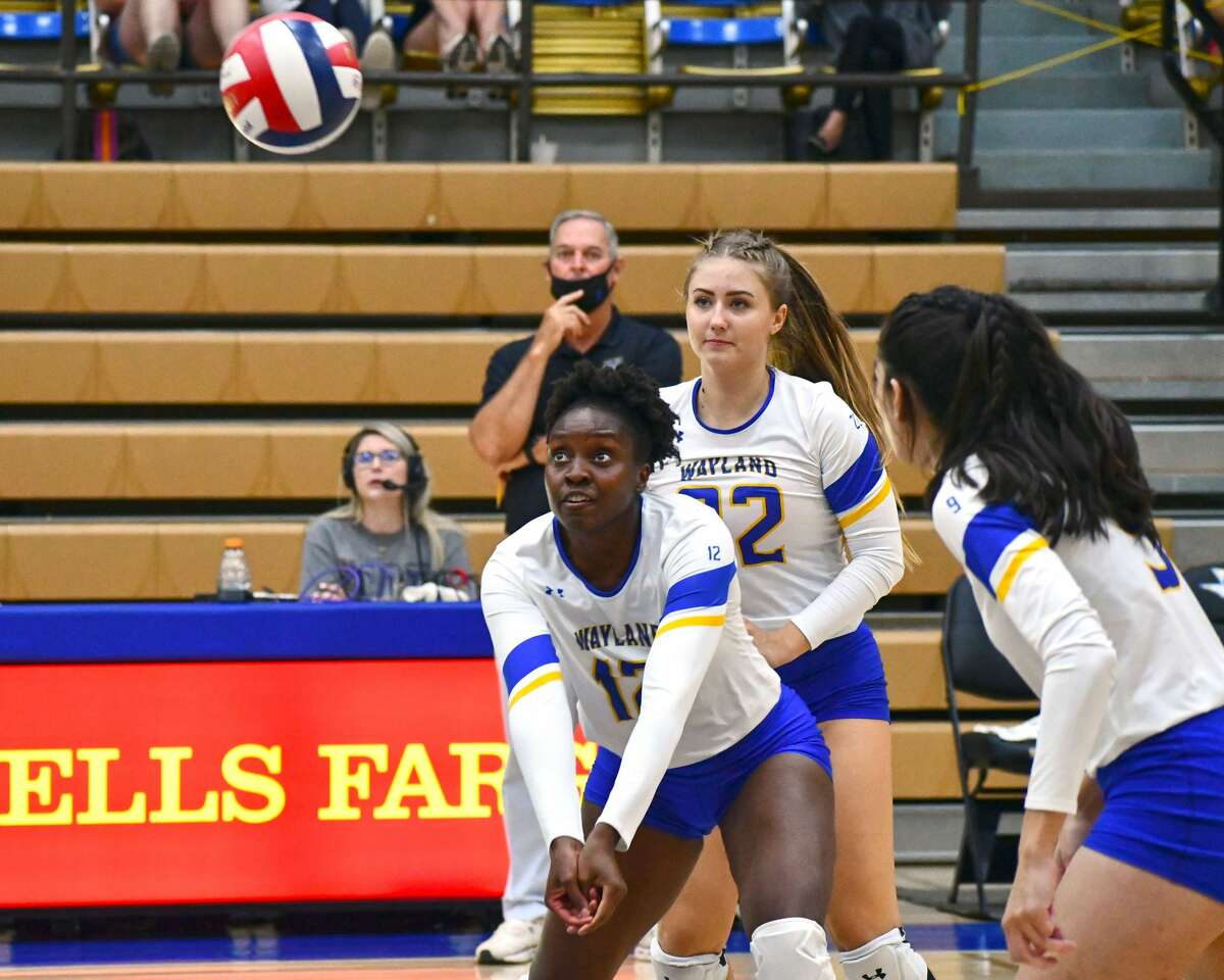 Wayland Baptist hosted Lubbock Christian in a non-conference volleyball game on Tuesday in the Hutcherson Center.
